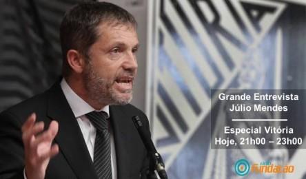 Entrevista com Júlio Mendes esta 3ªf na Rádio Fundação - Noticias a5726f8c0549d