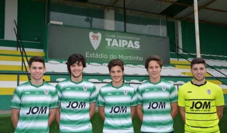 CC Taipas promove 5 juniores campeões para os seniores - Noticias ea5ce58e3a671