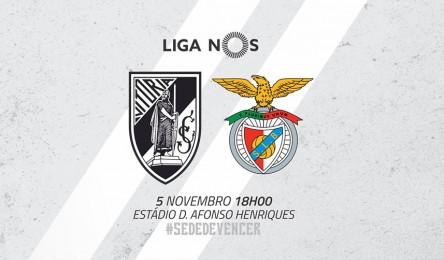 Vitória recebe o Benfica