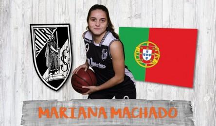 Basquetebol  Mariana Machado chamada à seleção sub-15 - Noticias 7ce902cbe0560
