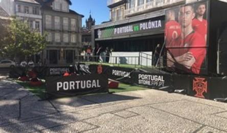 Guimarães prepara-se para receber o jogo da Seleção Nacional - Noticias 2f489369cb260