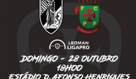 A formação vitoriana irá receber o Paços de Ferreira este domingo a1c751284072f
