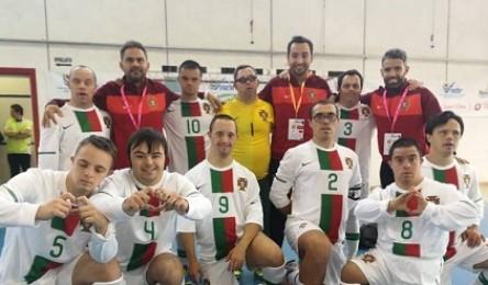 Portugal campeão Europeu de futsal em síndrome de Dawn. - Noticias 3d2a4f5ef07f3