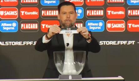 O Vitória vai receber o Benfica nos quartos-de-final da Taça de Portugal. O  sorteio a2c7f75469f5a